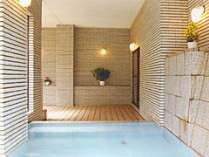 殿方風呂  自家源泉掛け流し 24時間入浴可能!