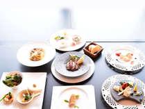 オリジナル洋食(お箸で食べるシーフードコンチネンタル料理) 夕食(A)