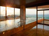 「空」WEST大浴場の内風呂。