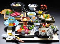 【夕食】和会席「雅」夏メニュー(一例)