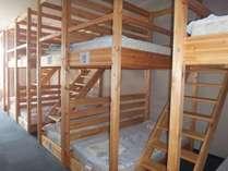 ドミトリー2段ベッドタイプ:最大22名様まで(イメージ)