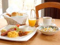 1日の始まりは朝食から!