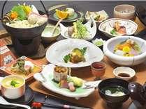 お得なプランでの和会席(夕食)一例