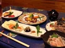 地元の特産を使った創作和洋食