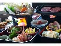 【貸切風呂無料】 初夏の松島 和懐石御膳プラン 【ハーフバイキング付】