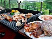 夏季限定【特選海鮮BBQ】