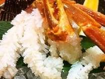 ☆冬の赤い宝石「松葉ガニ」☆蟹刺し