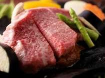 飛騨牛の朴葉ステーキ(通常追加料理@3,000円)