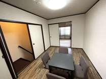 2階寝室お布団でお休みください。