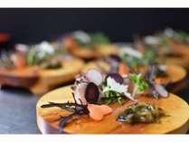 丹後の四季を体感!旬の地野菜・地魚、地食材を使用した創作会席料理を「丹後旬菜コース」!!