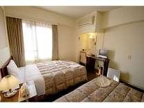 スタンダードツインルーム(14室)お二人での旅にご利用下さい。