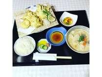 大分郷土料理 鶏天とだんご汁御膳付プラン【朝食ビュッフェ付】