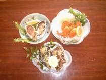 牡蠣料理(生牡蠣・焼牡蠣・牡蠣フライ)