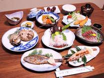 *【伊勢エビ付夕食一例】伊勢エビ1名に1尾付き!高級食材をリーズナブルな料金でご提供