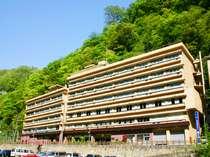 砂湯のお膝元 湯原国際観光ホテル菊之湯