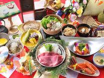 秋の【塩の道会席】食材を知り尽くした料理人が腕を振るった会席料理です