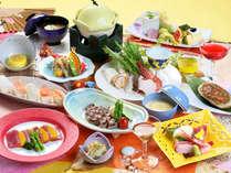 食べてキレイになろう♪ヒアルロン酸やコラーゲンたっぷりの【美肌会席】※料理画像はイメージです。