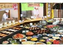 あつあつのお肉料理や天ぷら等約70種類のメニューをそろえております♪