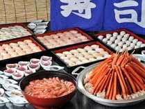 和洋70種類のメニューには新鮮な食材を使っています♪