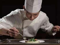 コース料理(ご夕食イメージ)。仕入れ状況によりメニューは変更となります。