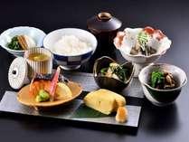 料理長の手作り和朝食にて、素敵な朝をお迎え下さい