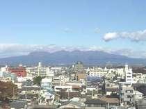 伊勢崎から見る赤城山は一番美しいと言われています