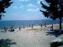 夏・浜辺1