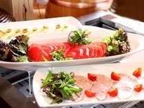 【朝食ビュッフェ】野菜豊富で色鮮やか♪