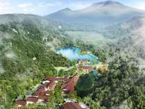 ホテル全景/7万坪の大自然の中で叶う、上質なリゾートステイ
