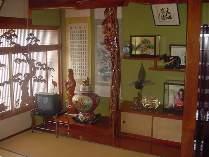 明るくて清潔な和室