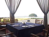 【洋食レストラン】抜群の眺望と一流シェフによる旬のメニューが美味しい時間を奏でます