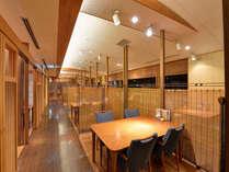 """*お食事処""""常磐""""/趣きある和の空間が広がるお食事処。三河湾を眺めながら会席料理をご堪能下さい。"""