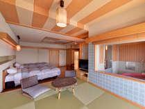 *スカイビュー(客室一例)/格調高い和のしつらえが、大人の静寂な休日を演出。