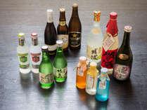 *お夕食一例/歴史と技術を誇る愛知の地酒をはじめ、焼酎、ビール、カクテルを取り揃えています。