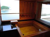 *【半露天風呂付きスカイビューフロア】三河湾の夜景を湯船から眺める贅沢な時間を大切な人と・・・