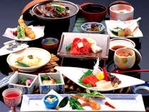 季節に合わせた旬の会席料理イメージ:常磐で海の幸たっぷりの会席を★