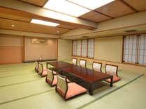 *グループ和室24畳(客室一例)/広々とした客室は、最大12名様までご宿泊いただけます。