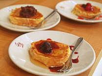 【フレンチトースト】人気メニューで優雅な朝食を♪