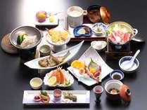 蒲郡の港で水揚げされた魚を使用した会席料理をご堪能下さい♪(日本料理 常磐 料理一例)