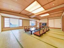 *【グループ和室】広々24畳の和室は、ご家族やグループ様での利用に最適です