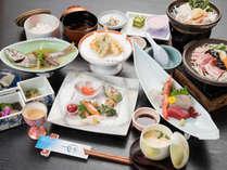 *【和会席(日本料理 常磐)】蒲郡の港で水揚げされた魚などを使用した会席料理です(料理はイメージです)