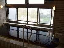 3階にある宿泊者専用の展望風呂です。