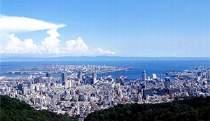 六甲山から望む神戸市街地