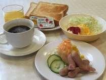 平日のご宿泊には朝食無料サービス