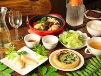 【スタンダード】信州 菅平高原。。。四季折々の恵みを丹精こめてつくる料理が並ぶ♪基本プラン