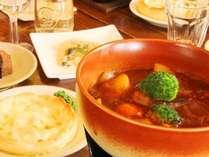 ☆料理_夕食一例_ビーフシチュー