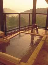 【ピグマリオン】特別室の露天風呂一例
