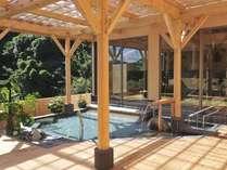 日帰り入浴施設「観音プリンシプル」の露天風呂の一例 ※ご宿泊のお客様もご利用可能です