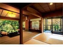 【ピグマリオン】準特別室(和室12.5畳+次の間4.5畳)のお部屋の一例