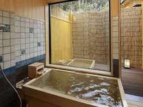 【産土亭】2017年1月リニューアル、源泉かけ流し露天風呂付客室の一例